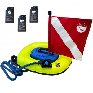 Image of BLU3 Nemo Dive System with Three Batteries (No Backpack)