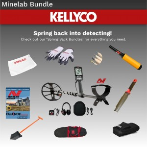 Image of Minelab Spring Back into Detecting Bundle