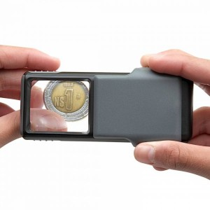 Image of Carson 5x Slide-out LED MiniBrite Aspheric Lens Magnifier with Protective Sleeve