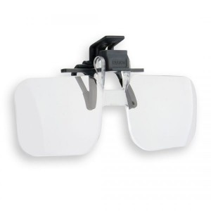 Image of Carson Clip and Flip™ 1.5x Magnifying Lenses
