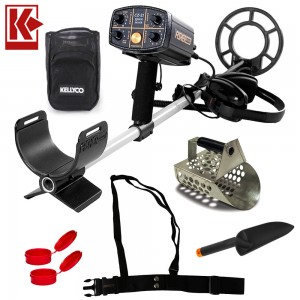 Image of Fisher CZ-21 Metal Detector Diving Bundle with Sand Scoop and Mesh Finds Pouch
