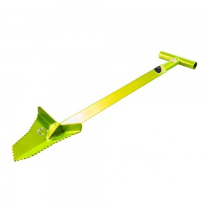 "Image of Grave Digger Tools 36"" Snubnose Venom Green T-Handle Shovel"