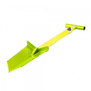 "Grave Digger Tools 27"" Nemesis Venom Green T-Handle Shovel"