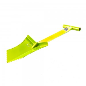 "Image of Grave Digger Tools 27"" Tombstone Venom Green T-Handle Shovel"