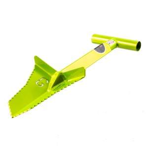"Grave Digger Tools 18"" Snubnose Venom Green T-Handle Shovel"