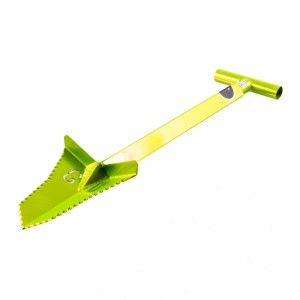 "Grave Digger Tools 27"" Snubnose Venom Green T-Handle Shovel"