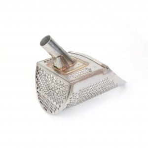 "Image of Detecting Adventures T-Rex 8"" Stainless Steel Sand Scoop - Honeycomb Holes"