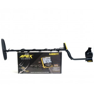 Image of Garrett ACE Apex Metal Detector with Viper Coil