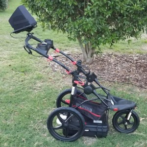 Image of Easy Radar USA Deluxe Ground Penetrating Radar Cart System