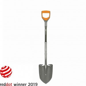 Image of Fiskars Pro D-Handle Metal Detecting Shovel
