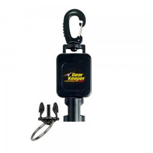 Image of Gearkeeper Retractable Lanyard for Metal Detecting and Scuba Diving