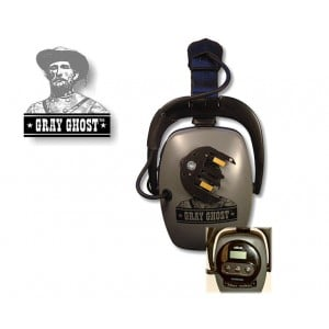 Image of DetectorPro Gray Ghost Platinum Headphones (XP Deus)