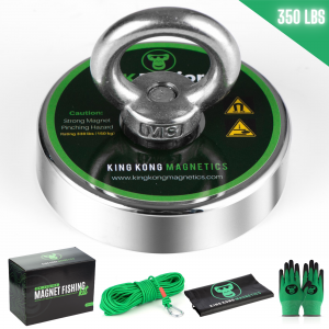Image of King Kong Junior Fishing Magnet Kit - 350 lbs