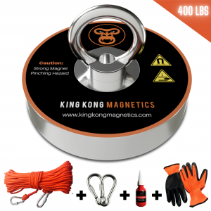 King Kong Starter Fishing Magnet Kit - 400 lbs