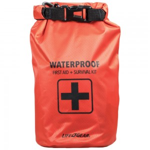 Image of Life + Gear 130-Piece Dry Bag First Aid & Survival Kit