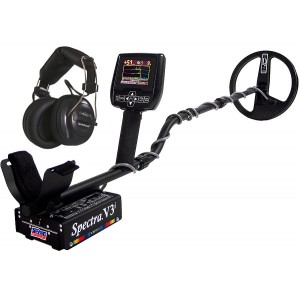 Image of White's Spectra V3i Metal Detector with Headphones