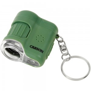 Image of Carson 20x LED Lighted Pocket Microscope