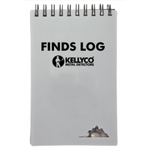 Kellyco Finds Log Notebook