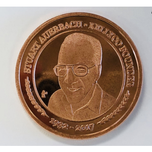 Image of Kellyco Stu Auerbach Commemorative Coin