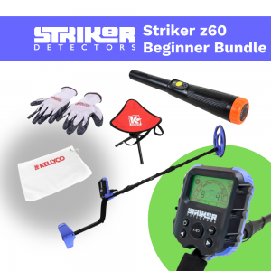 Image of Striker z60 Metal Detector Beginner Bundle