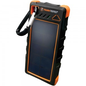 Image of Tough Tested Solar Power Bank with Flashlight