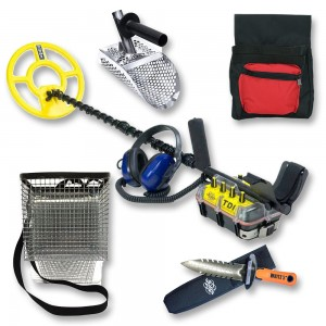 White's TDI BeachHunter Metal Detector Bundle