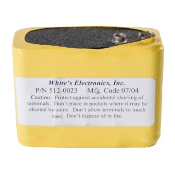 White's 10 Cell NiCad (Use with 509-0012 or 509-0024 Charger) 5120012 Image 1
