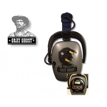 DetectorPro Gray Ghost Platinum Headphones (XP Deus)