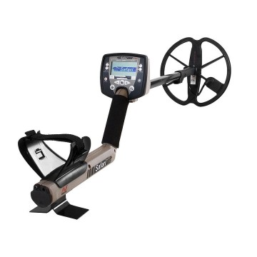Minelab Safari Metal Detector shown in full view from Kellyco Metal Detectors