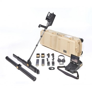 OKM eXp 6000 Professional Metal Detector shown with accessories from Kellyco Metal Detectors