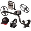 Garrett AT Max Metal Detector with Extra Viper Search Coil and Camo Pouch Fall Special