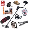 """Garrett AT Pro Metal Detector Bundle with AT Propointer Pinpointer 5x8"""" PROformance Search Coil"""