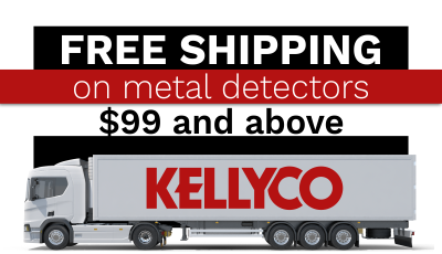 Free Shipping on Detectors $99 above