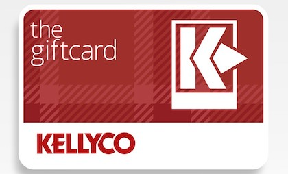 Gift card for sale from Kellyco Metal Detectors