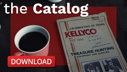 Digital Catalog graphic for Kellyco Metal Detectors