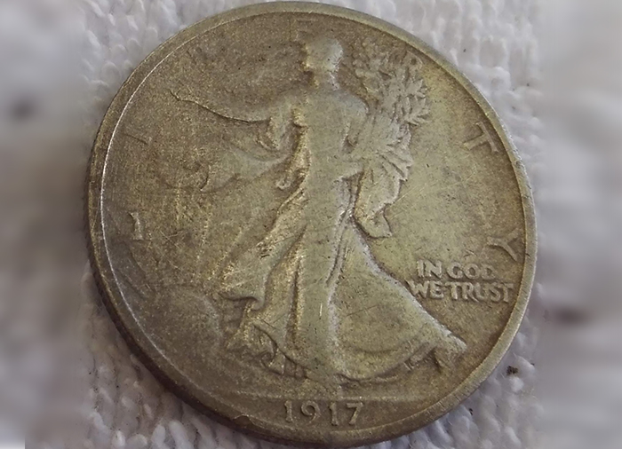 British Trade Weight Metal Detecting Find - Kellyco