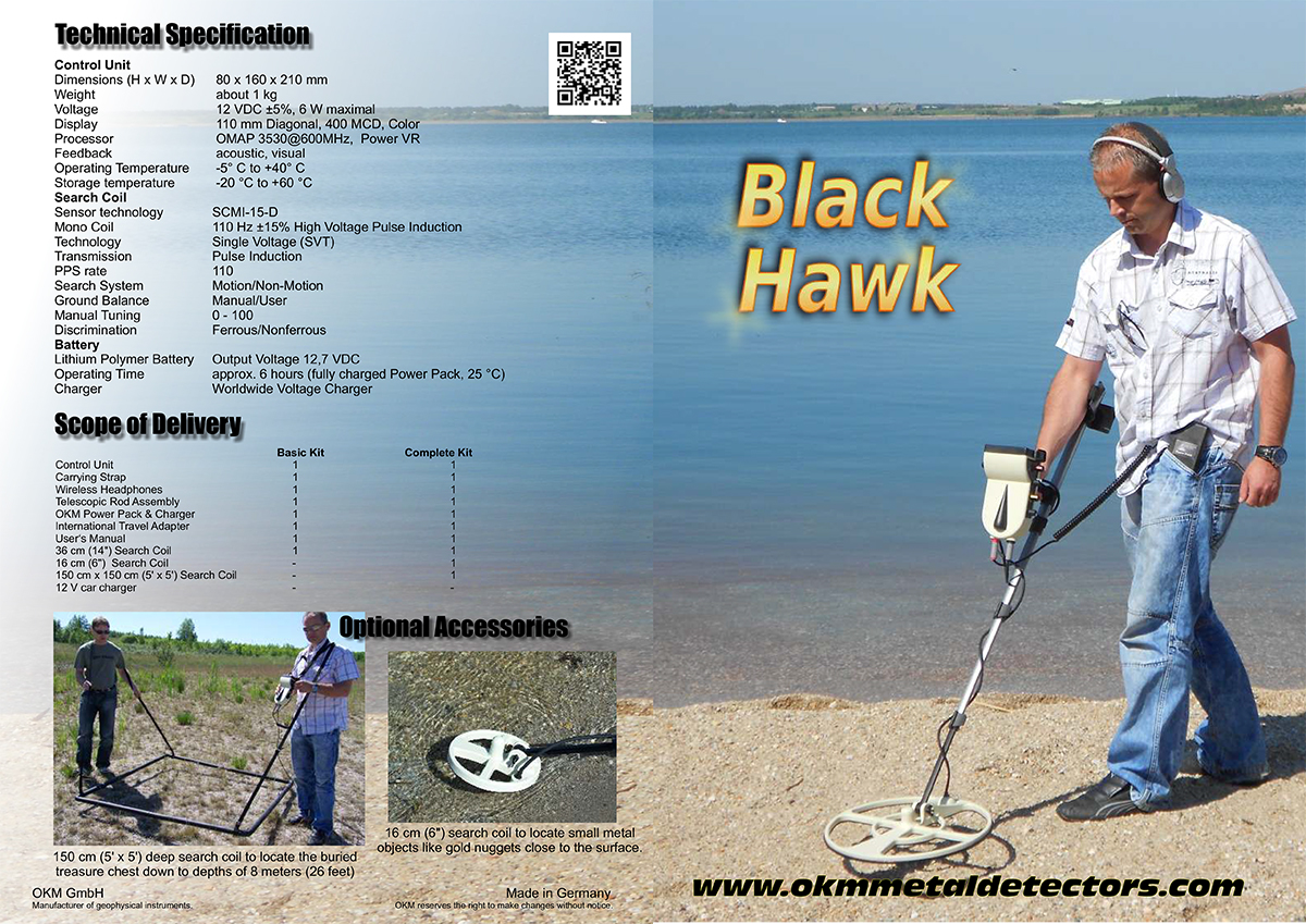 Black Hawk R3 Brochure Page 1