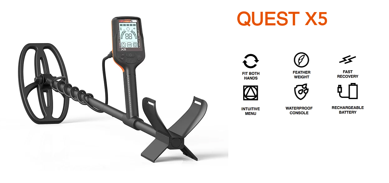Quest X 5 New Metal Detector