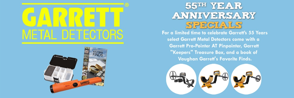Garrett 55th Anniversary Specials