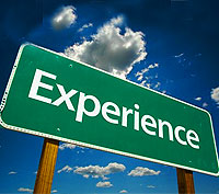 How much experience do you have?
